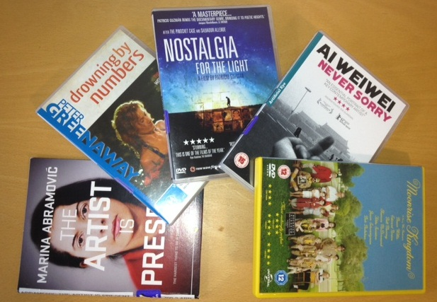 New DVDs in the Library