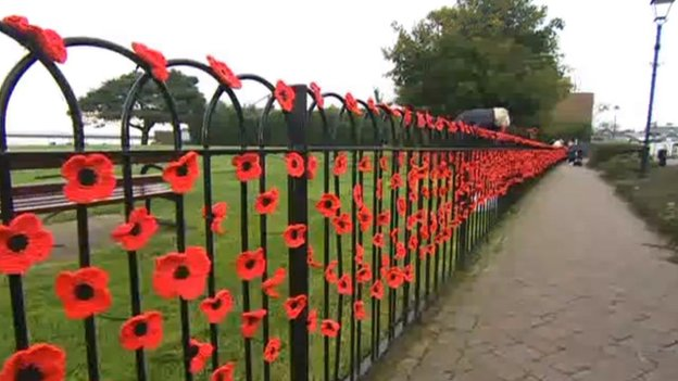 Southampton To Winchester >> Poppies and Installation Art | Winchester School of Art Library Blog