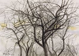 'Trees' lithograph