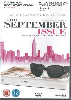 DVD The September Issue / 391.0904 SEP