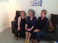 Catherine Polley, Linda Newington & Claire Hemmings
