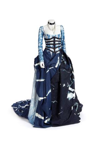 ISKO commissioned dress
