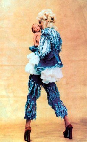 Vivienne Westwood's 'Cut, Slash, Pull Collection